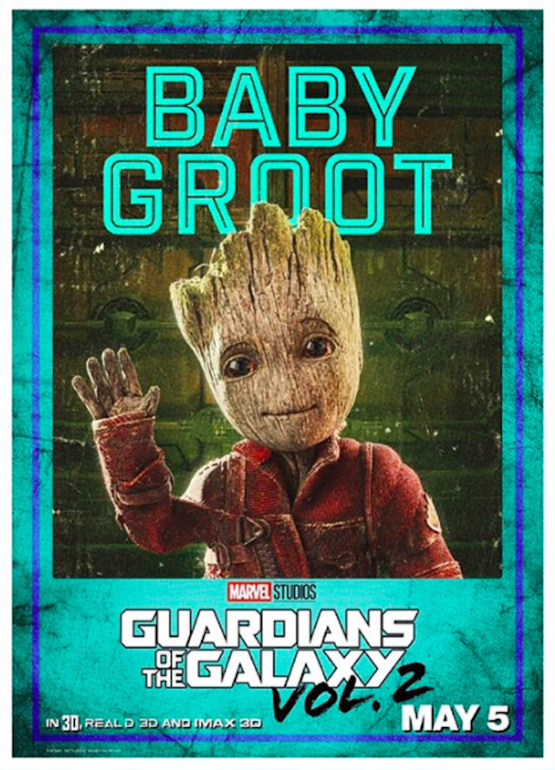 Guardians 2 Character posters 607 9