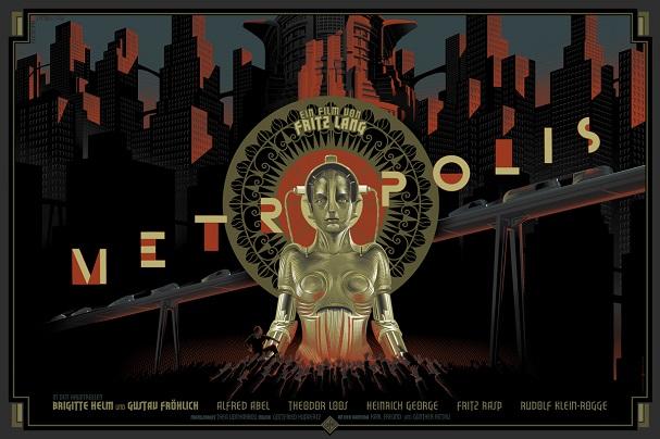 Metropolis by Laurent Durieux 607
