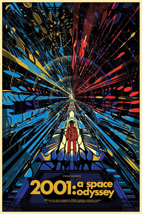 2001 A Space Odyssey Poster by Killian Eng 607