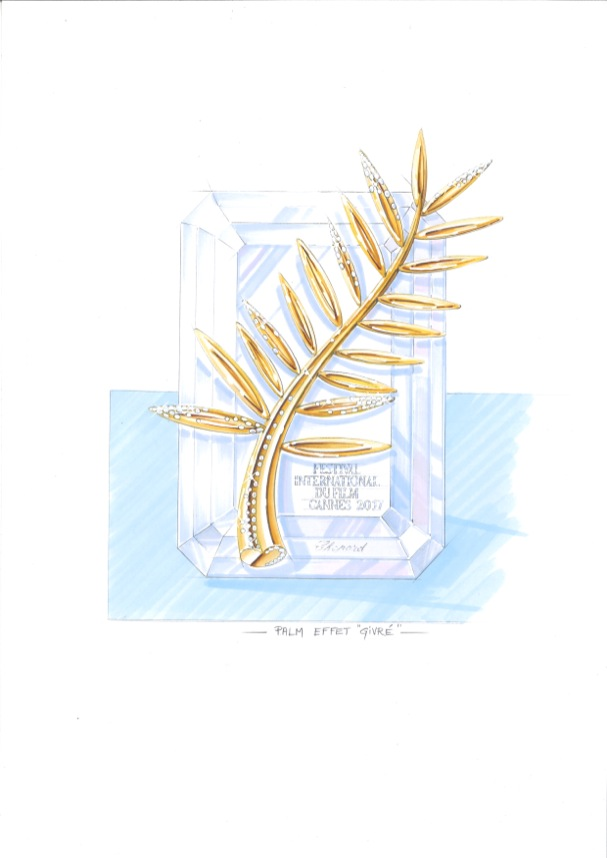 Golden Palm 70 years Cannes Chopard 607