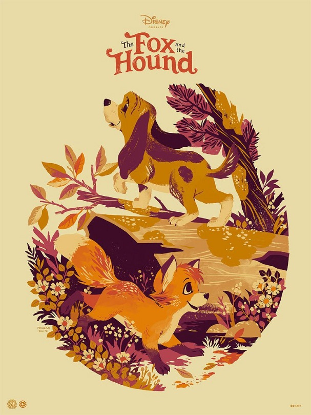 Fox and the Hound by Teagan White 607