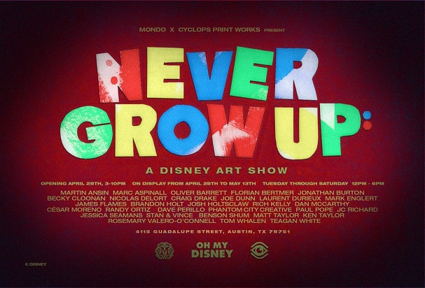 Never Grow Up Disney Show 607