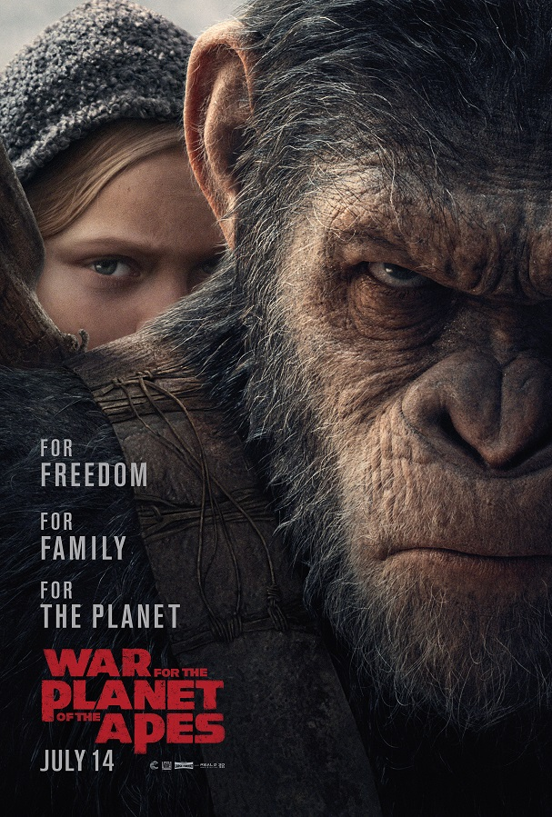 War for the Planet of the Apes poster 607