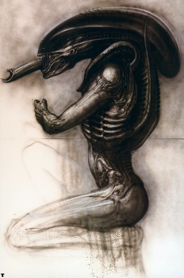 Concept Art H.R. Giger 607