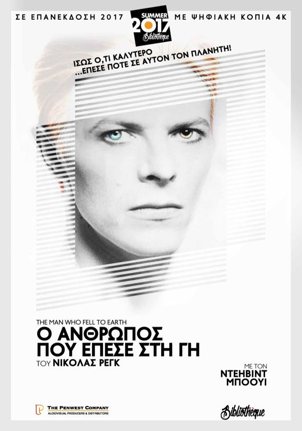 The Man Who Fell to Earth Greek poster