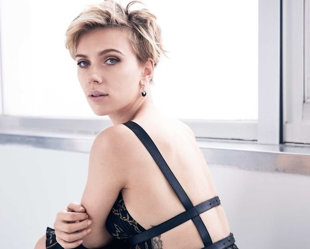 Scarlett Johannson Cosmopolitan