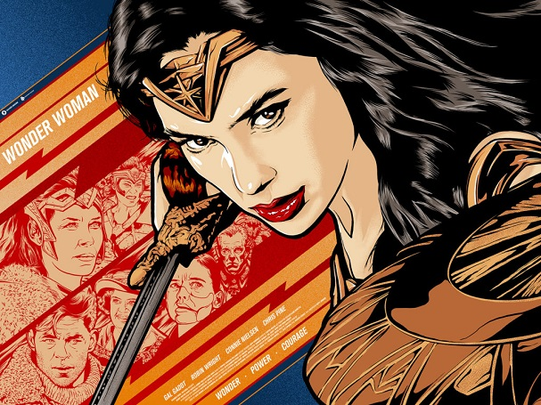 Wonder Woman Art 607