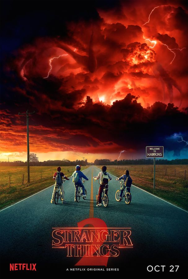 Stranger Things 2 Poster 607
