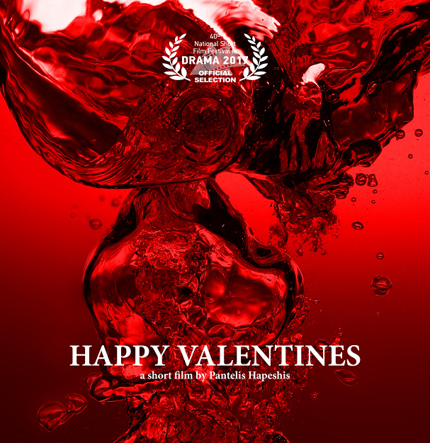 happy valentines poster
