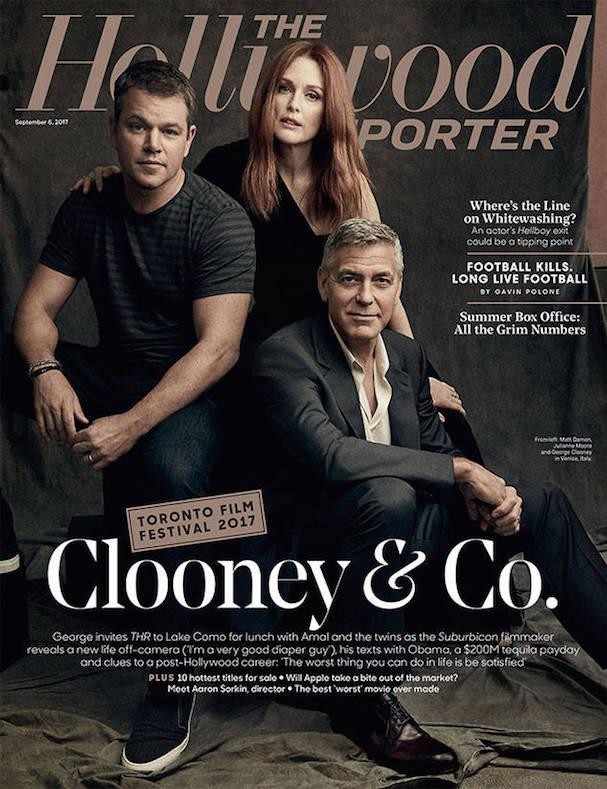 George Clooney HR 607