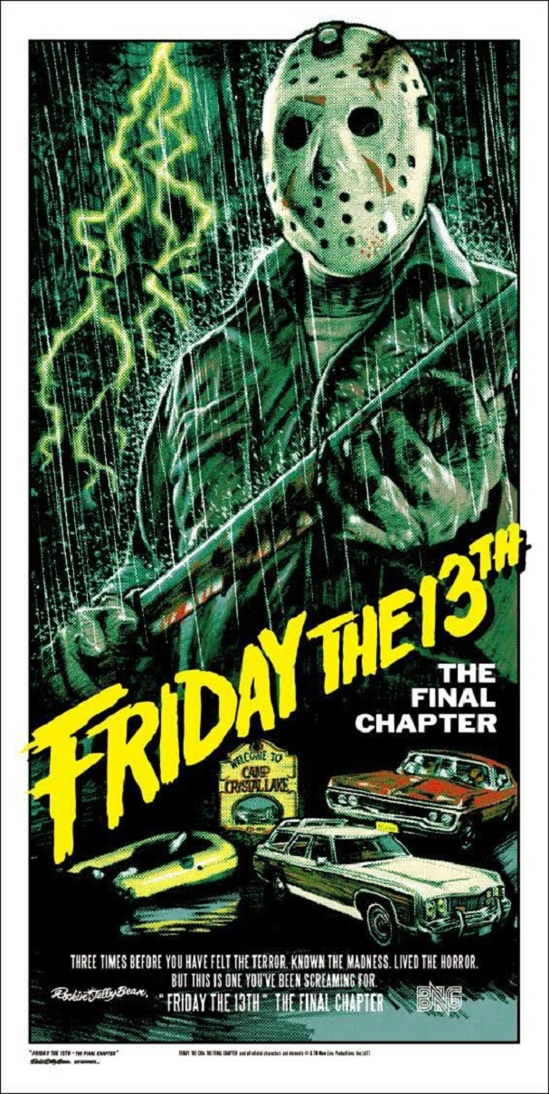 Friday the 13th Final Chapter by Rockin Jelly Bean 607