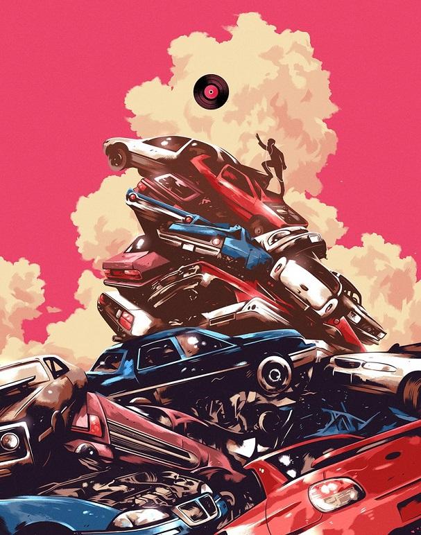 Baby Driver Art 607