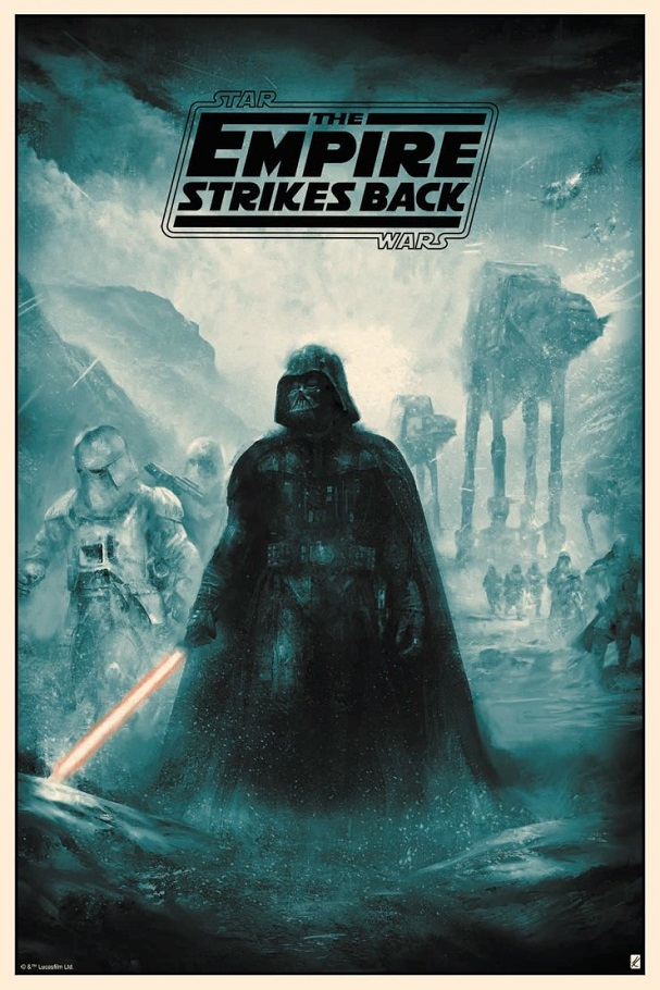 The Empire Strikes Back by Karl Fitzgerald (Regular) 607
