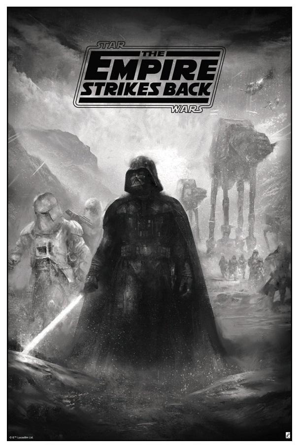 The Empire Strikes Back by Karl Fitzgerald (Variant) 607