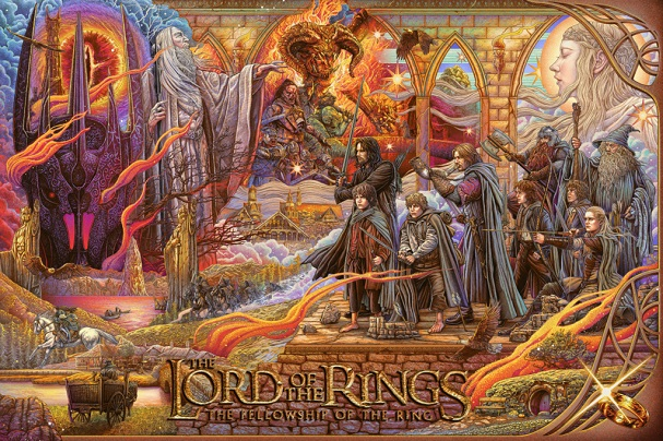 The Lord of the Rings The Fellowship of the Ring by Ise Ananphada 607