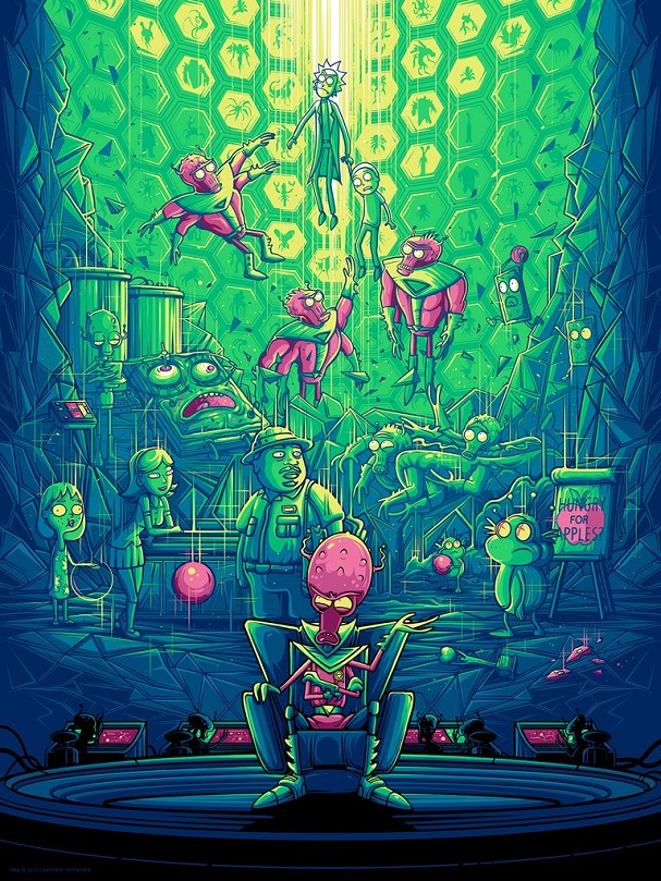 Two Parts Plutonic Quarks by Dan Mumford 607