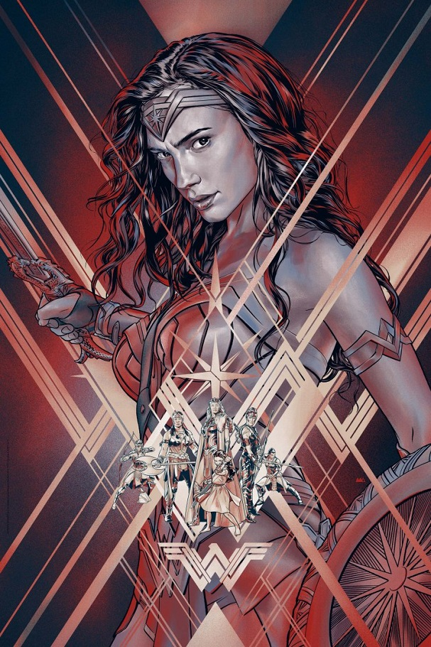 Wonder Woman by Martin Ansin (Variant) 607