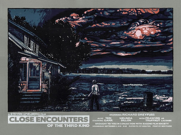Close Encounters of the Third Kind Poster 607