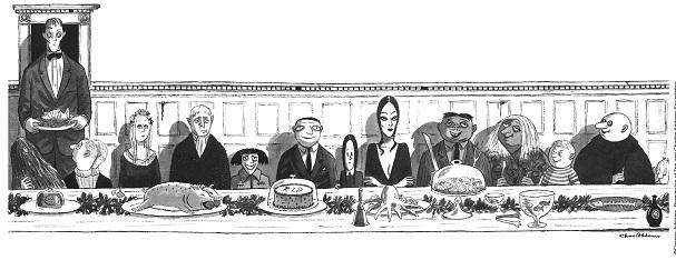 Addams Family cartoon 607