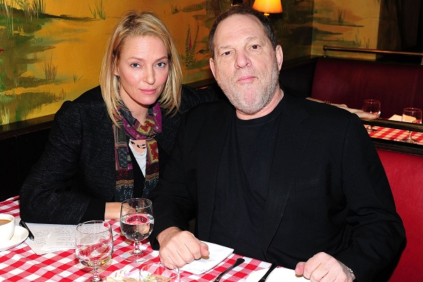uma therman harvey weinstein