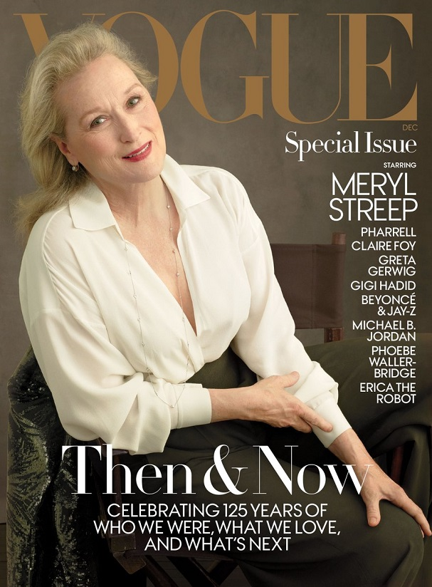 Meryl Streep Vogue 607