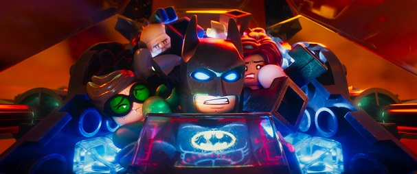 The Lego Batman 607