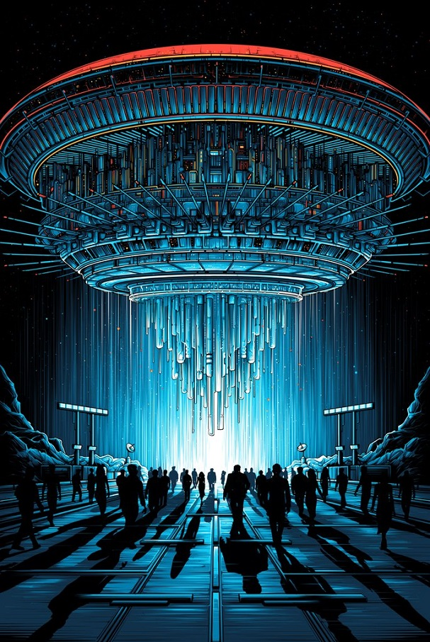 Dan Mumford - Close Encountrs of the Third Kind 607