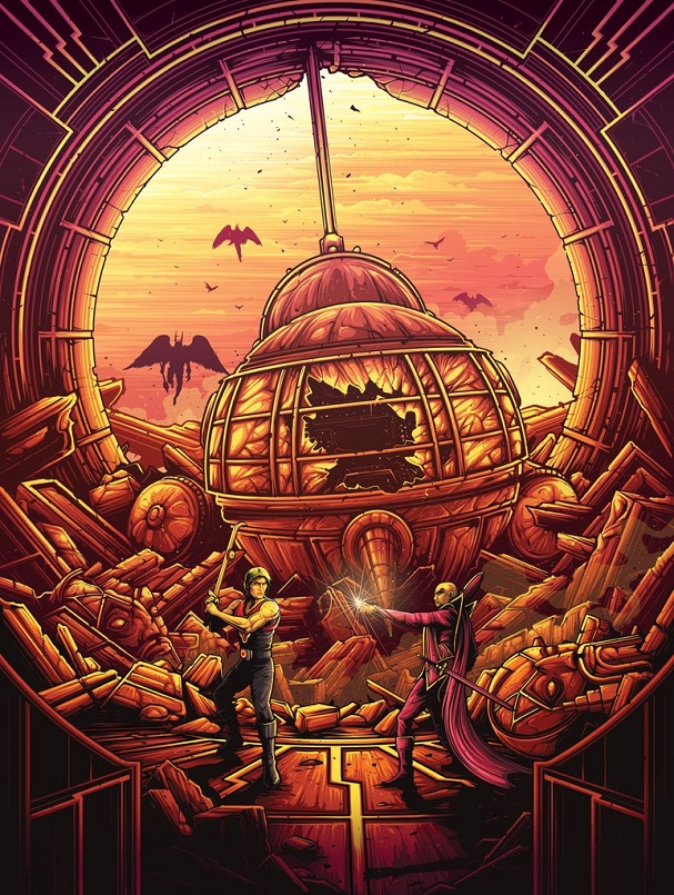 Dan Mumford - Flash Gordon 607