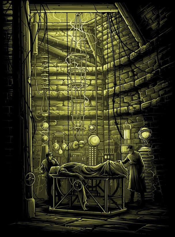 Dan Mumford - Frankenstein 607