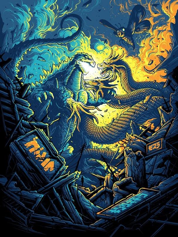 Dan Mumford - Godzilla 607