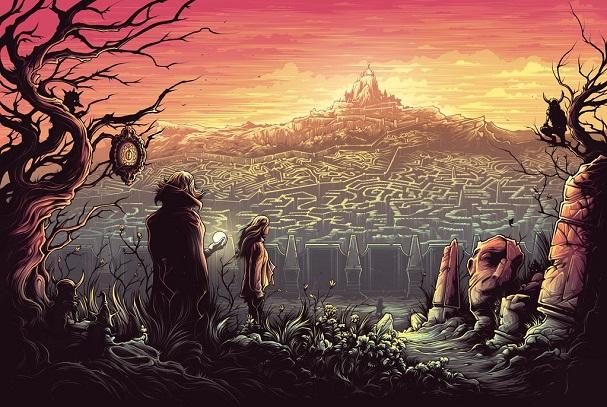 Dan Mumford - Labyrinth 607