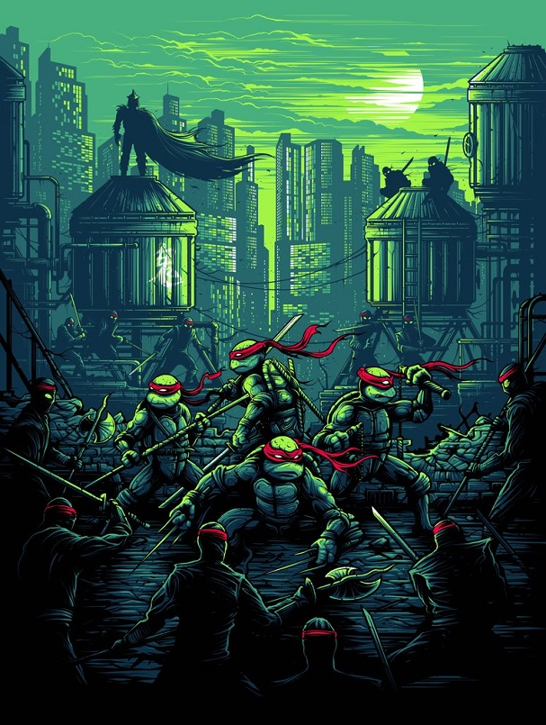 Dan Mumford - Teenage Mutant Ninja Turtles 607