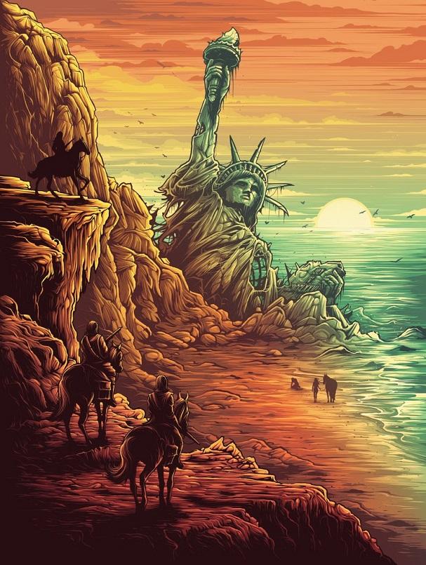 Dan Mumford  - Planet of the Apes 607