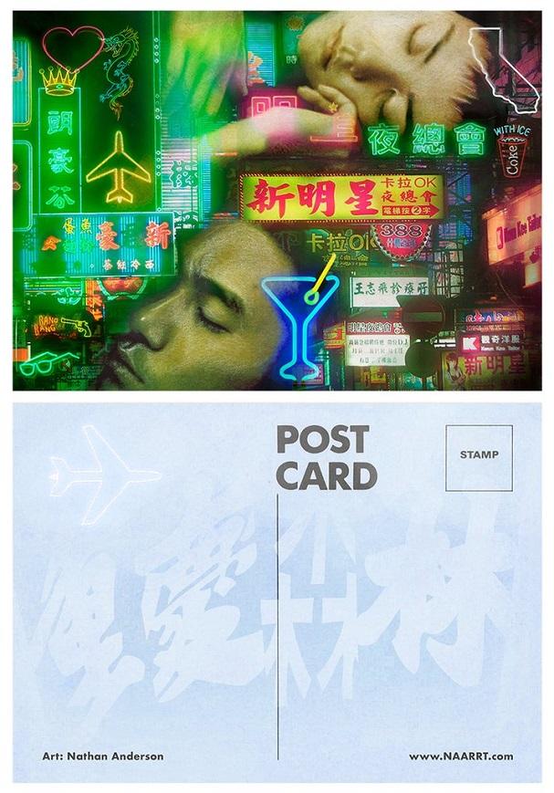 Postcards Correspondence 607