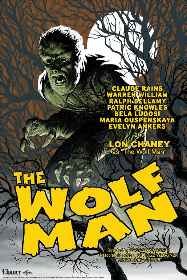 Eric Powell - The Wolf Man 607