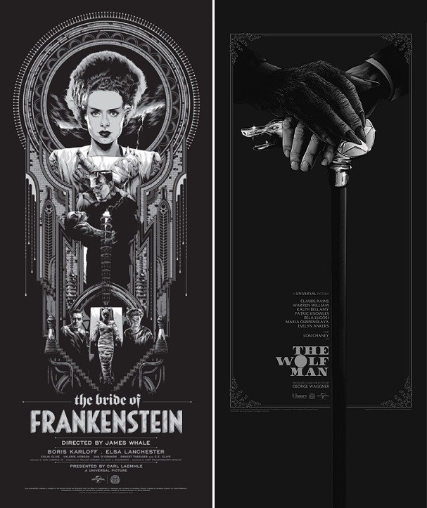 Ken Taylor - The Bride of Frankenstein, Matt Ryan Tobin - The Wolf Man 607