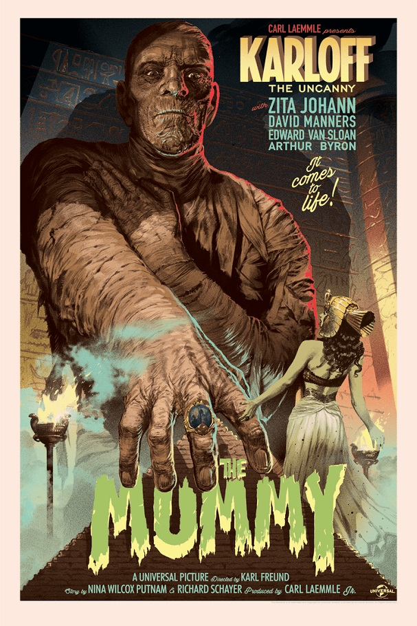 Stan and Vince - The Mummy 607