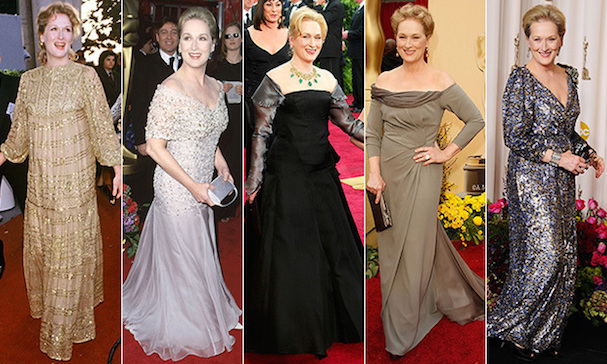 Meryl Streep red carpet 1