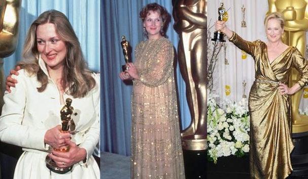 Meryl Streep Oscar wins 607