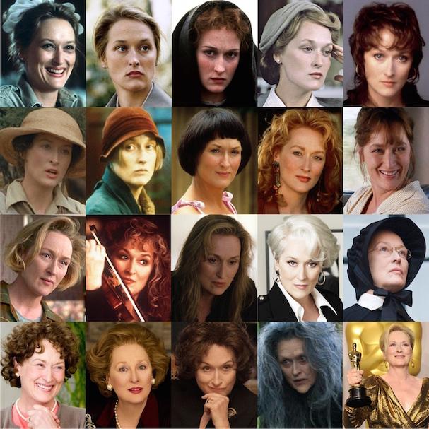 Meryl Streep 21 Oscar nominations 607