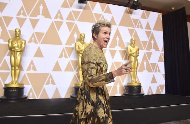 frances mcdormand Oscars 607 4