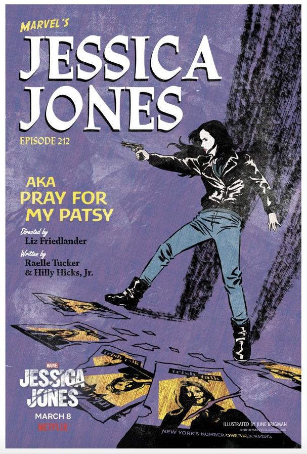 jessica jones pulp posters 607