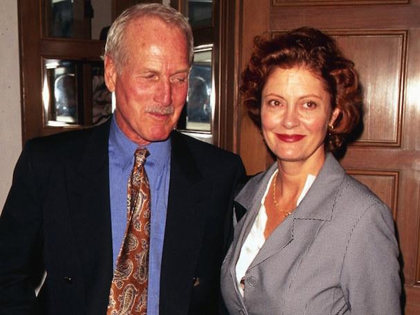 Susan Sarandon Paul Newman 607 3