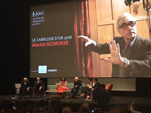 Scorsese Masteclass Cannes 607