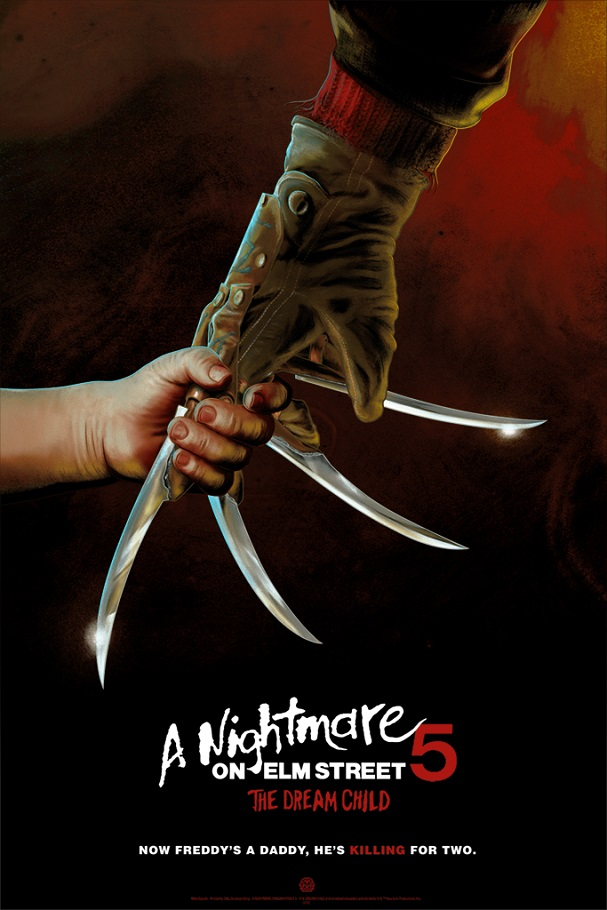 A NIGHTMARE ON ELM STREET 5 THE DREAM CHILD by Mike Saputo 607