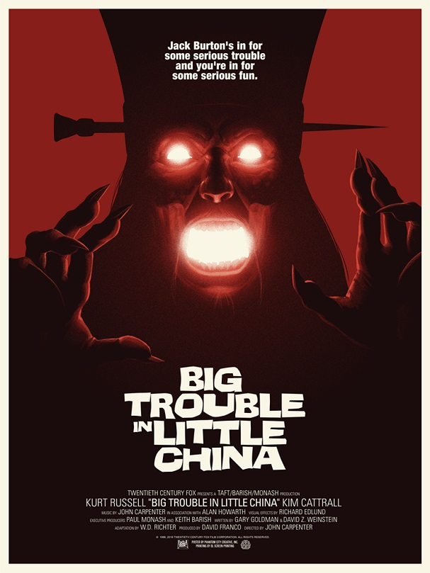 BIG TROUBLE IN LITTLE CHINA by Phantom City Creative 607