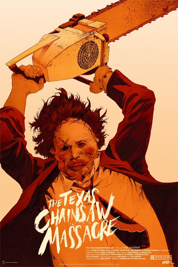 THE TEXAS CHAINSAW MASSACRE (Vertical) by Robert Sammelin 607