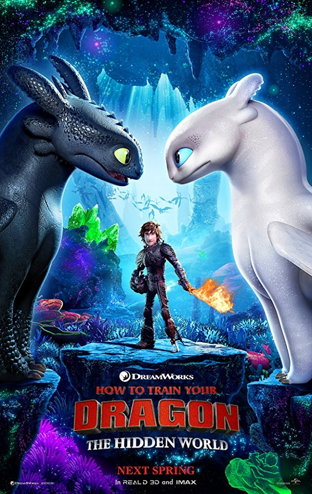 how to train your dragon 3 poster 607