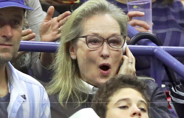 Meryl Streep US Open 607 4