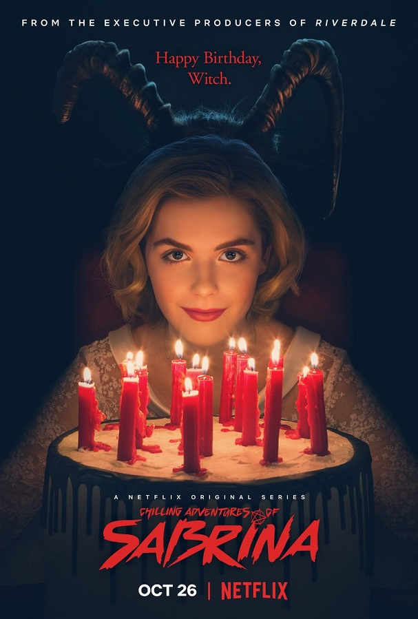 the chilling adventures of sabrina poster 607